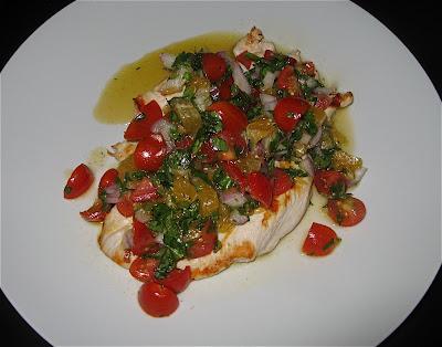 Chicken Paillard with Clementine Salsa | TO CATCH A COOK