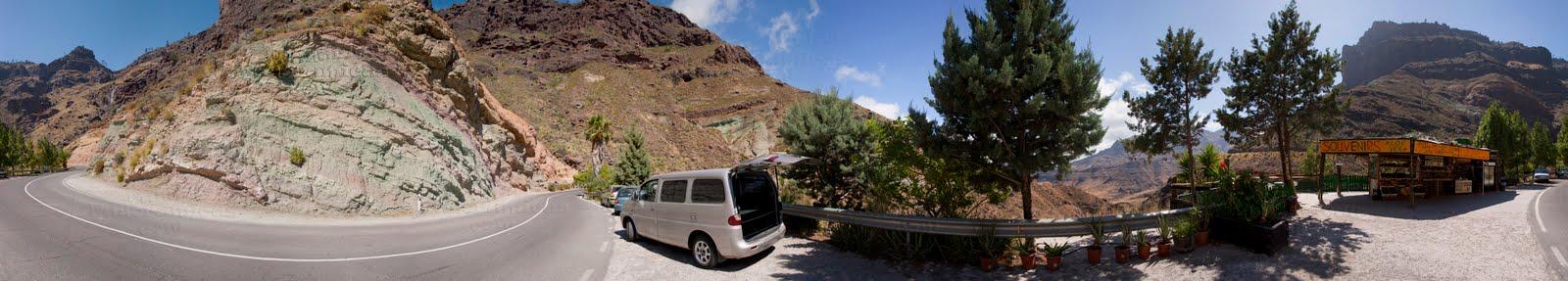 Canarias panor micas fuente de los azulejos mog n isla for Fuente de los azulejos