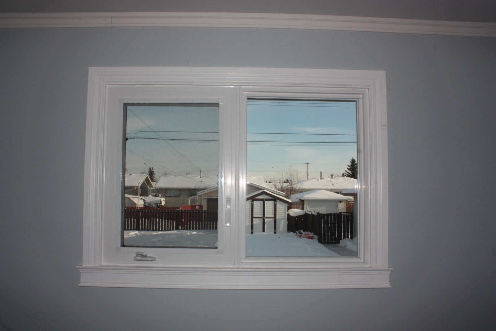 Installing Exterior Window Trim Viewing Gallery
