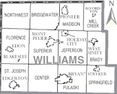 Williams County, Ohio Townships