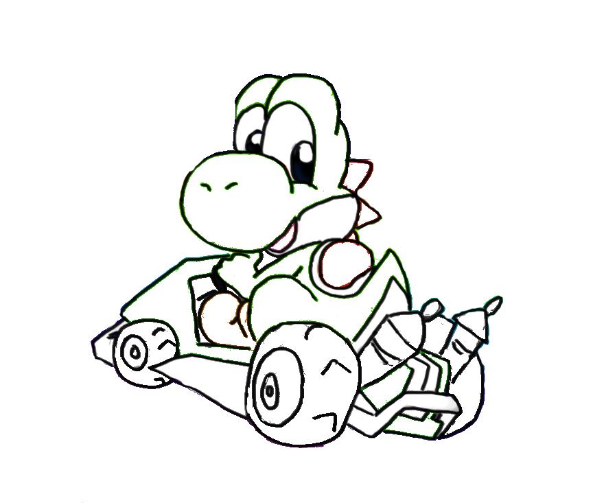 Toad from super mario coloring pages - Dibujos de super mario bros ...
