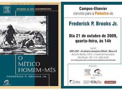 Fred Brooks no Brasil