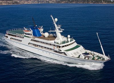 Saddam Hussein's Luxury Yacht Ocean Breeze