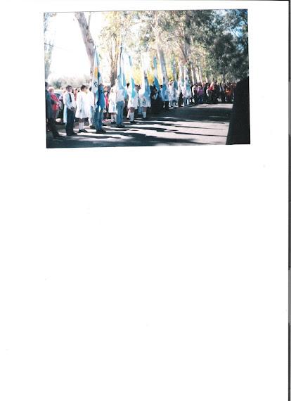Asi fue el acto de nuestra Inauguracion en el 2005