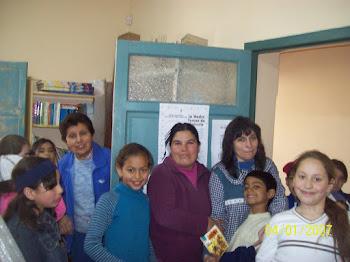 Visita de Alumnos de Escuela J J Castelli
