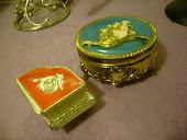 Vintage smykkeskrin