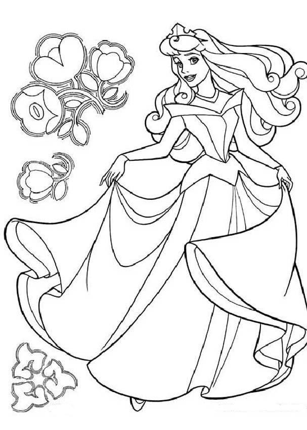 Desenho Para Colorir Barbie e o Segredo das Fadas para pintar e colorir