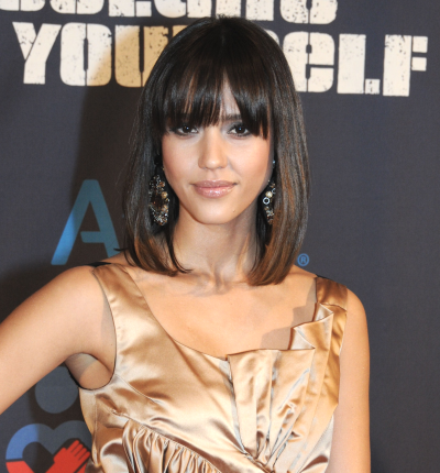 jessica alba blonde highlights. new jessica alba haircut