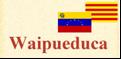 Un català a qui li encanta Veneçuela, una veneçolana parlant de Catalunya i tots dos parlant del món.
