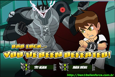Todos os 'games free online' do Ben10 e Ben 10: Alien Force (Força