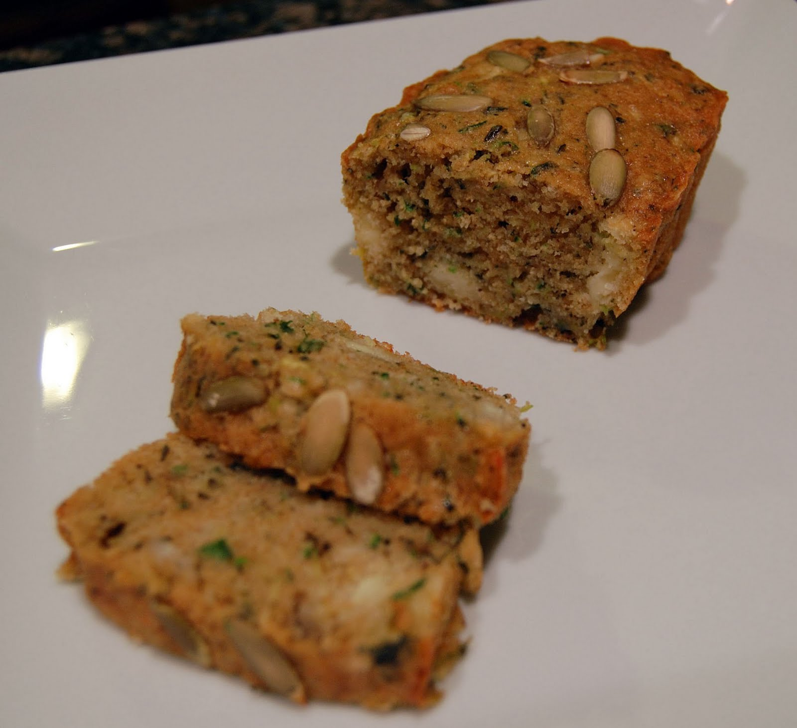 Tri to Cook: Savory Zucchini Bread