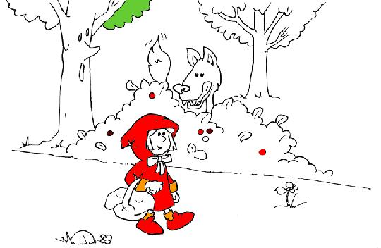 Un far de contes la caputxeta vermella dels grimm