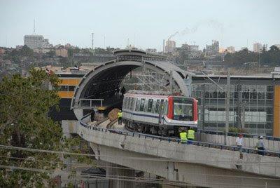 Inauguracion de el metro sd metro de santo domingo Metro santo domingo madrid