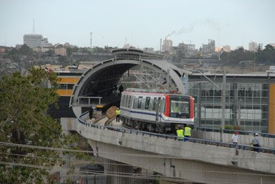 Inauguracion De El Metro Sd Metro De Santo Domingo