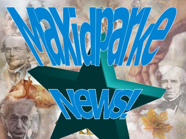 Maxidparke NEWS!
