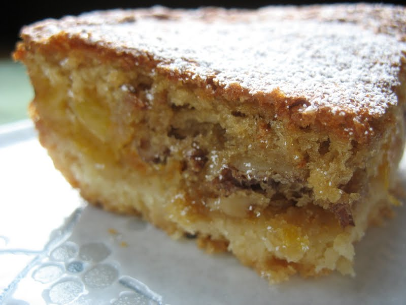 These apricot bars I whipped up, though, they were swell. I even ...