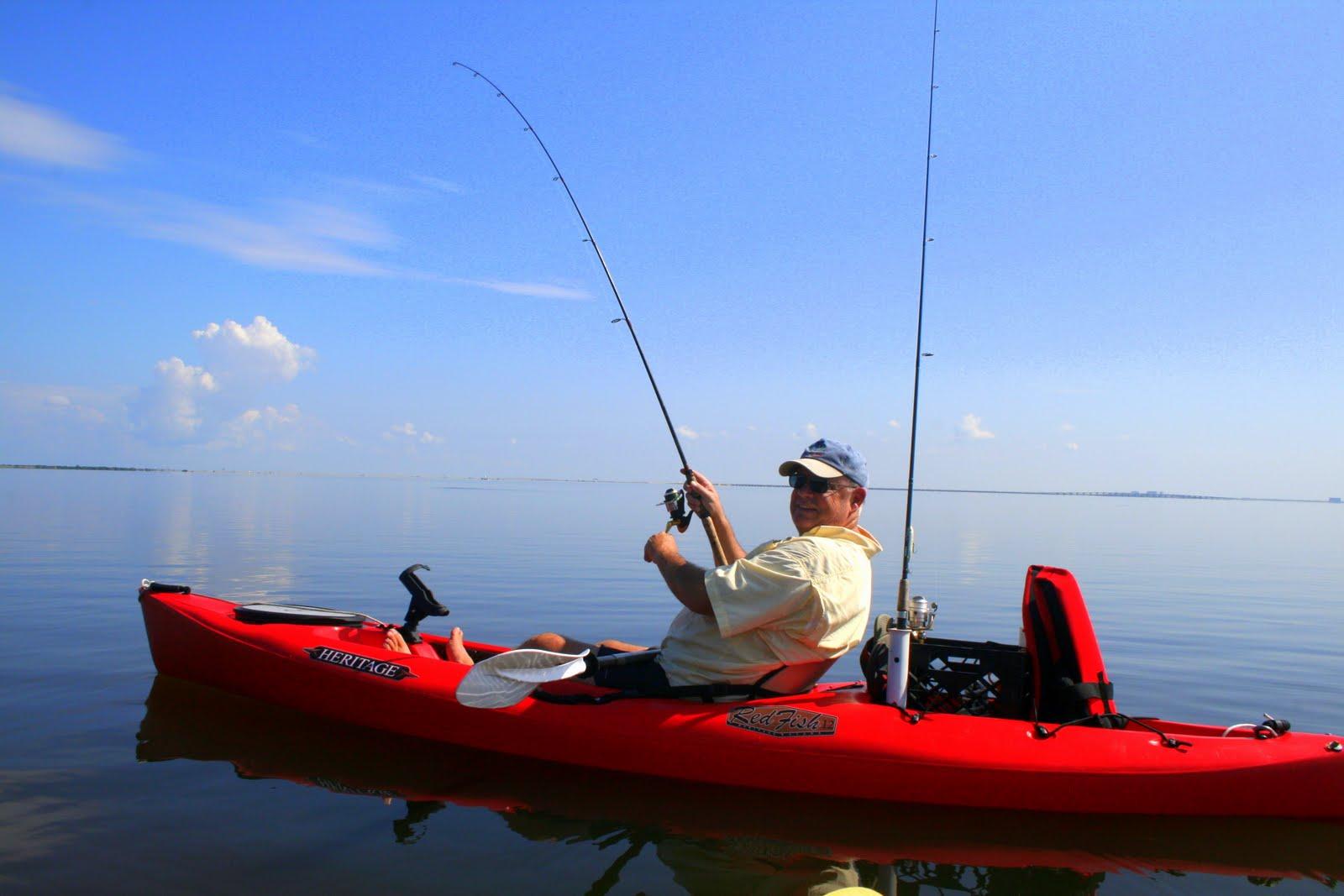 Tampa bay kayak fishing kayaking fathers day for Fishing tampa bay