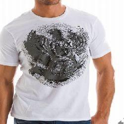 armani garuda t-shirt logo