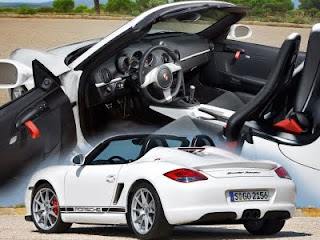 New 2010 Porsche Boxster Spyder Car