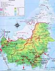 peta kalimantan daratan induk dari kepulauan sadau