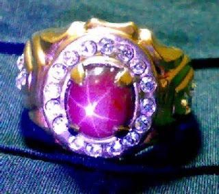 batu ruby unsur merah delima