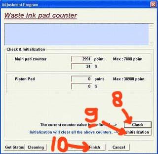 Download Epson adjustment program