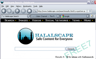 Halalscape islamic browser safe