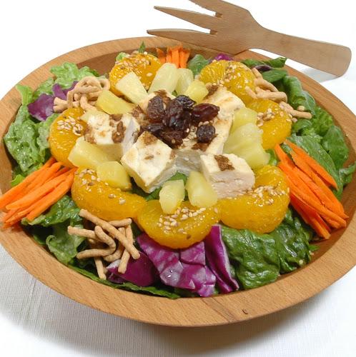 main-dish salads on restaurant one. Asian Salad with Mandarin Oranges ...
