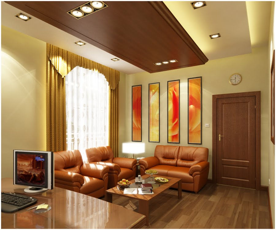 My 3drendering madness tuesday october 6 2009 for Receiving room interior design