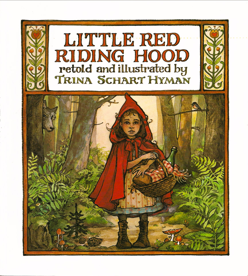 Illustrated Book Cover Number ~ The art of children s picture books little red riding