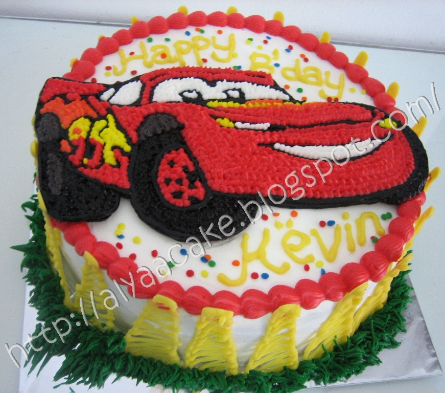 Yummy Cake From Samarinda The Cars Cake Untuk Kevin