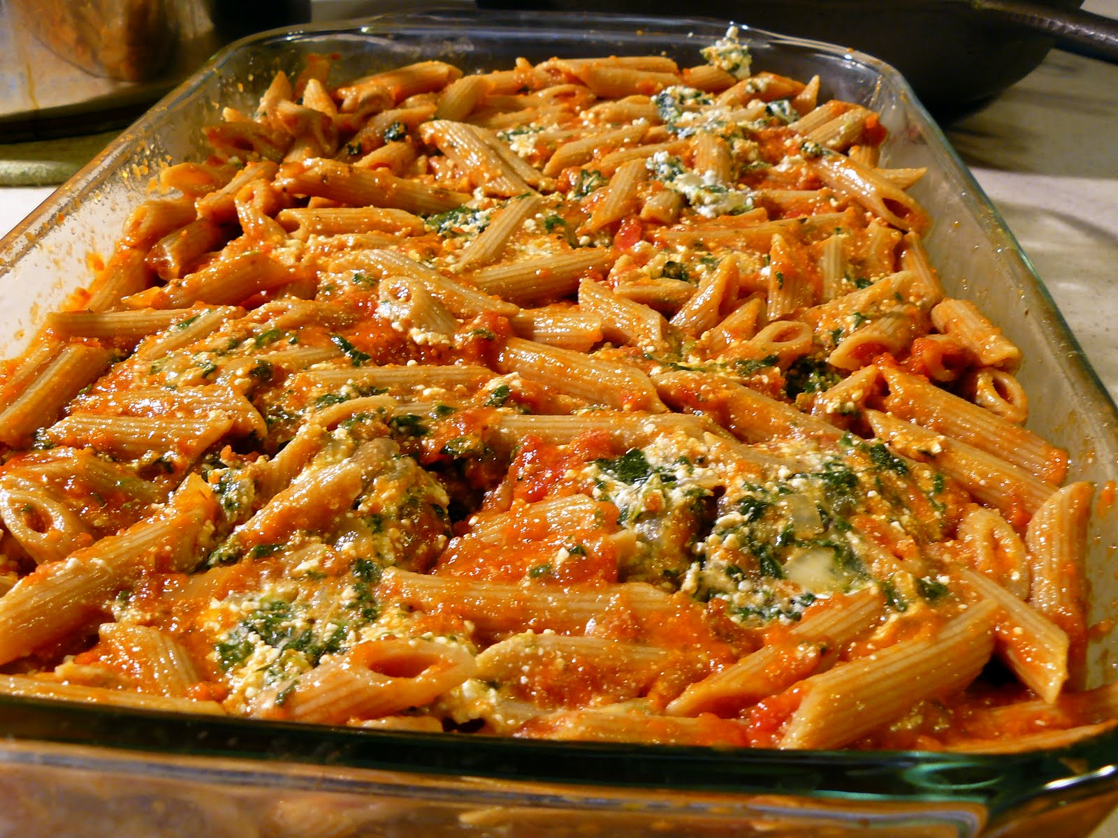 Spinach Baked Ziti Recipe — Dishmaps