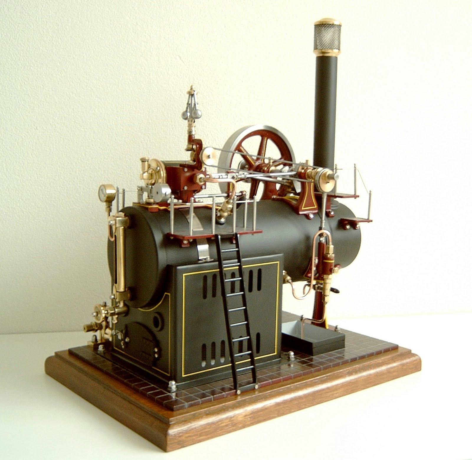 kleine stoommachine