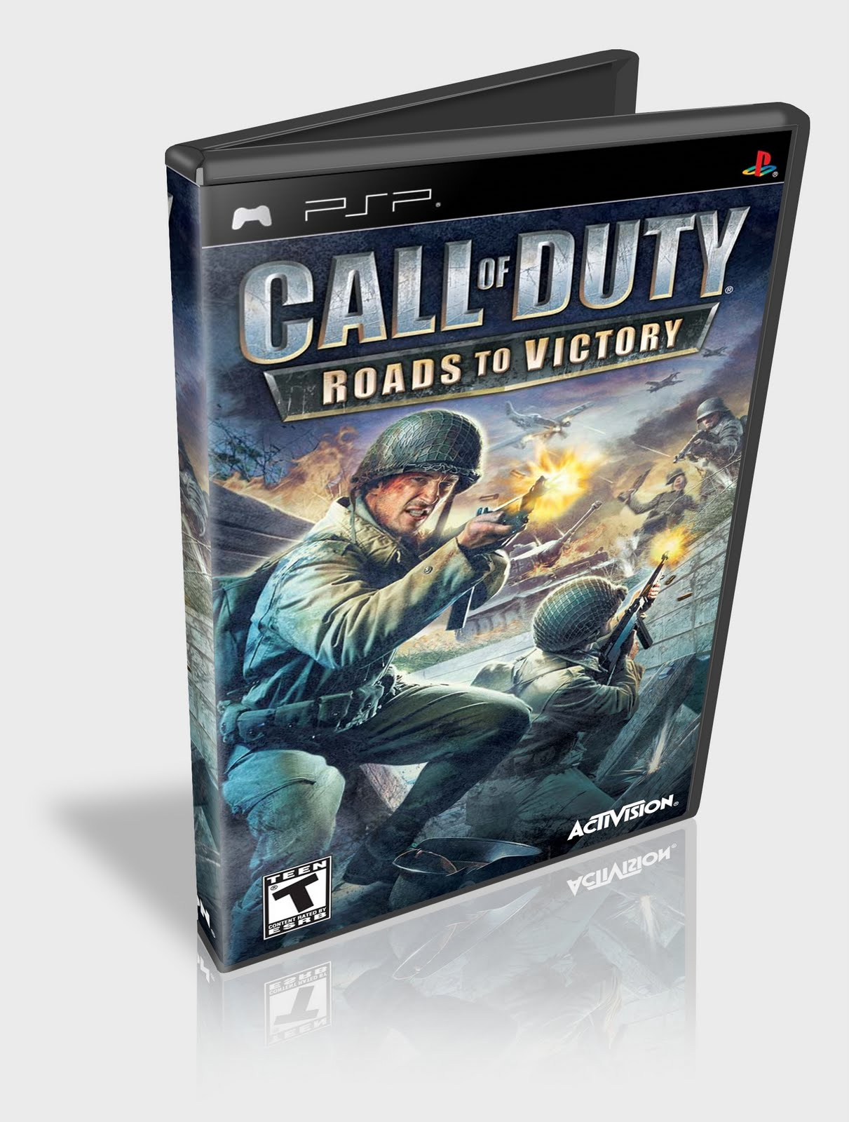 Call Of Duty Roads To Victory Для Psp