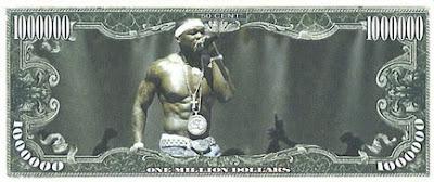 50 Cent Million Dollar Bill