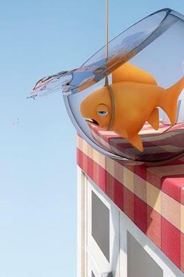 Phone Wallpaper Drowning Fish Phonewallpaper