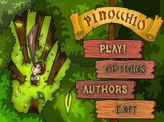 pinocchio games become from the legendary story about pinnochio and
