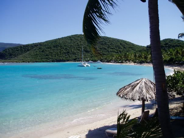 Beautiful Beach in the British Virgin Islands