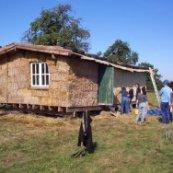 Casas ecológicas de fardos de palha Strawbalehouse