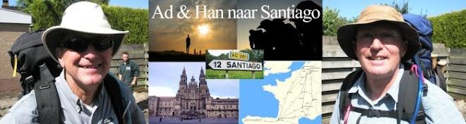 Ad en Han naar Santiago..