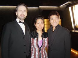 Linda and Andy Lau at Taipei studio