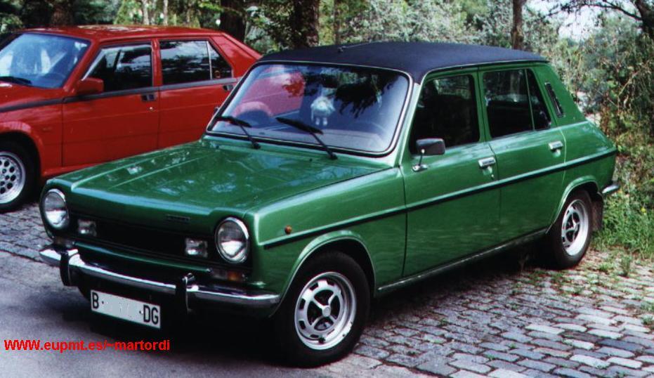 Mejor Coche Del A 209 O 1975 Hablemos Del Simca 1200