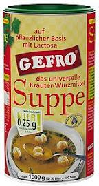 Gefro ételízesítő és erőleves