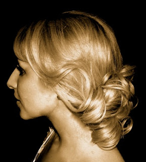 Find classy and elegant bridal hair styles, inlcuding updos, long, curly,