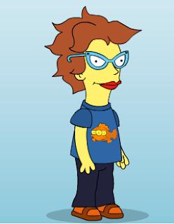 Esta soy yo en Los Simpsons