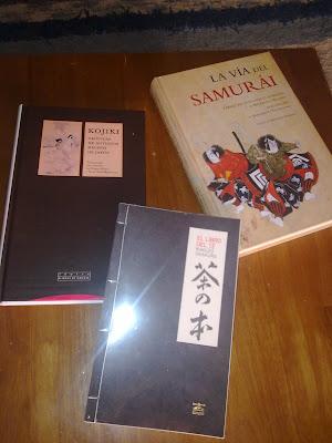 Kojiki, La via del samurai y El libro del Te