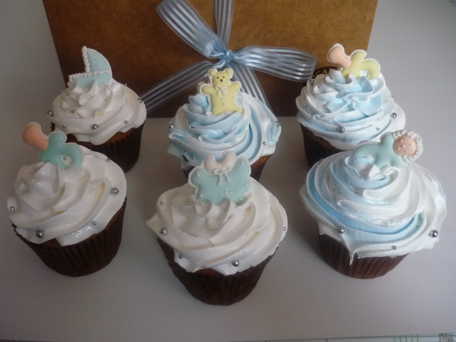 CUPCAKES MARCONI: BABY SHOWER NIÑO