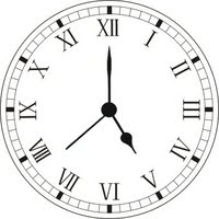 going s on of otto s pastimes roman numeral clock iv or Λi what