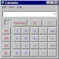 Microsoft's Calculator failed