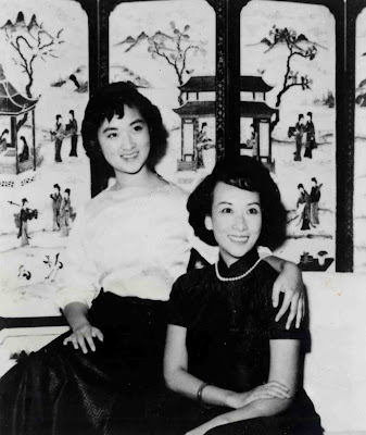 Nien Cheng with her beloved daughter Meiping
